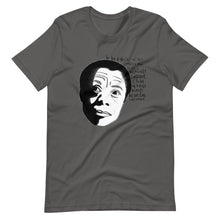 Load image into Gallery viewer, James Baldwin - Black and Conscious Tee