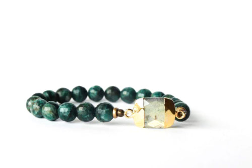 Fancy Stretch Duo Stone Bracelet