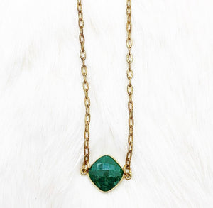 Emerald Gloria Necklace