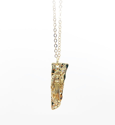 Mother Mary Tomb Necklace $55.00