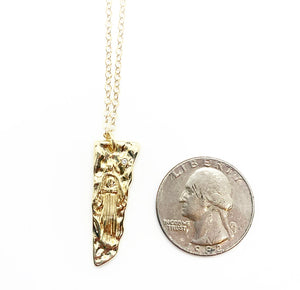 Mother Mary Tomb Necklace