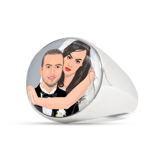 Custom Photo Ring