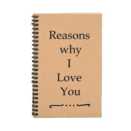 Reasons why I Love You - Blank Book