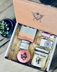 Sending You Love | Thinking Of You Gift | Thank You Gift | Get Well Soon Gift | Custom Gift Box| Gift For Her |Care Package | Wellness Gift