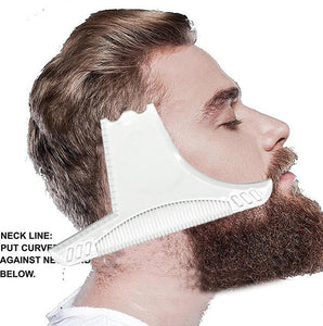 Men Hair Beard Trim Templates