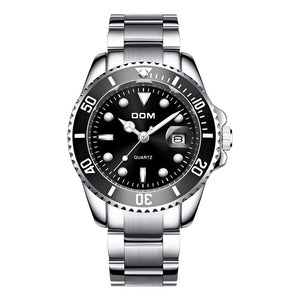 Waterproof Date Quartz Wrist Watch