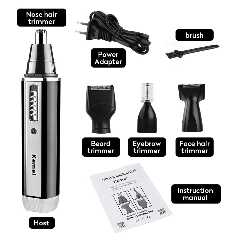 Electric Nose Ear Hair Trimmer