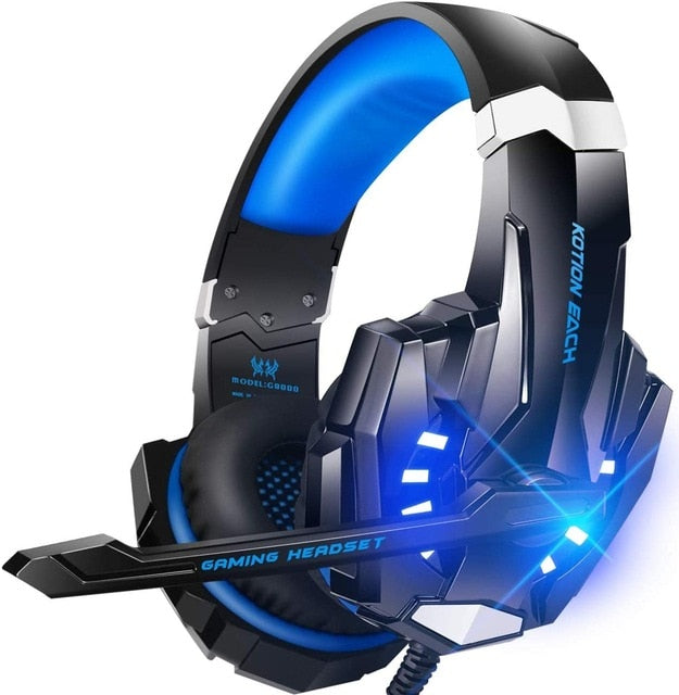 Stereo Gaming Headset Mouse