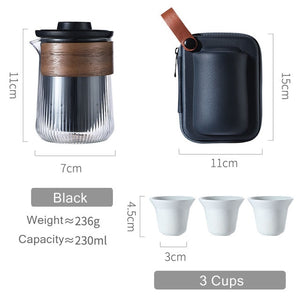 Container Tea Cup Set