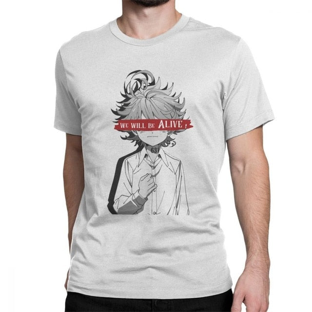 The Promised Neverland Men's T Shirts