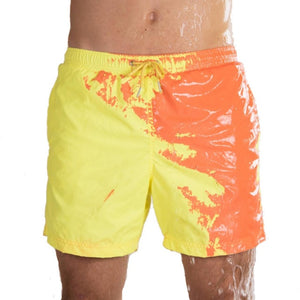 Color Changing Short | Temperature Reacting Color shorts | Beach Shorts  -Alovi & Co