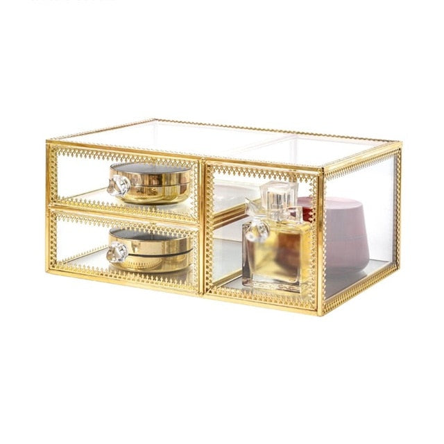 Cosmetic Jewelry Box Holder