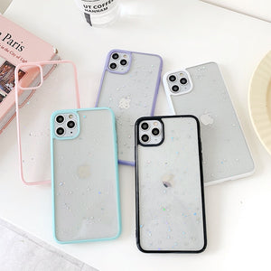 Soft Bling Clear Phone Case For iPhone 11 Pro Max
