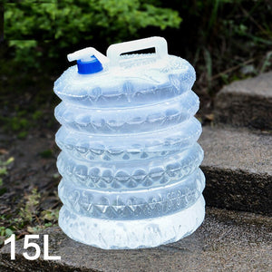 15L Portable Collapsible Water Bag