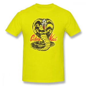 Mens Karate Kid T Shirts Cobra Kai T-Shirt