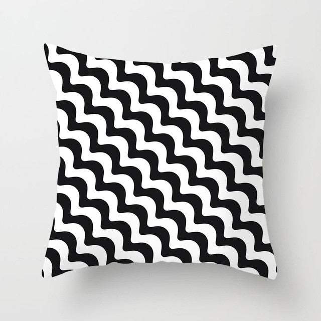 Geometric Cushion Cover