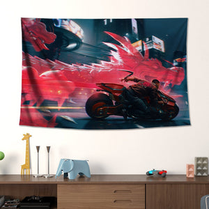 cyberpunk 2077 wall canvas art