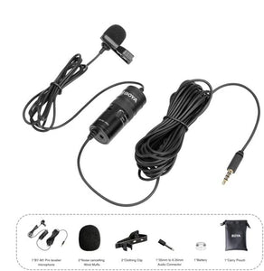 Video Record Lavalier Lapel Microphone