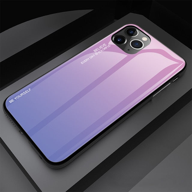 Gradient Painted Case For iPhone 11 Case