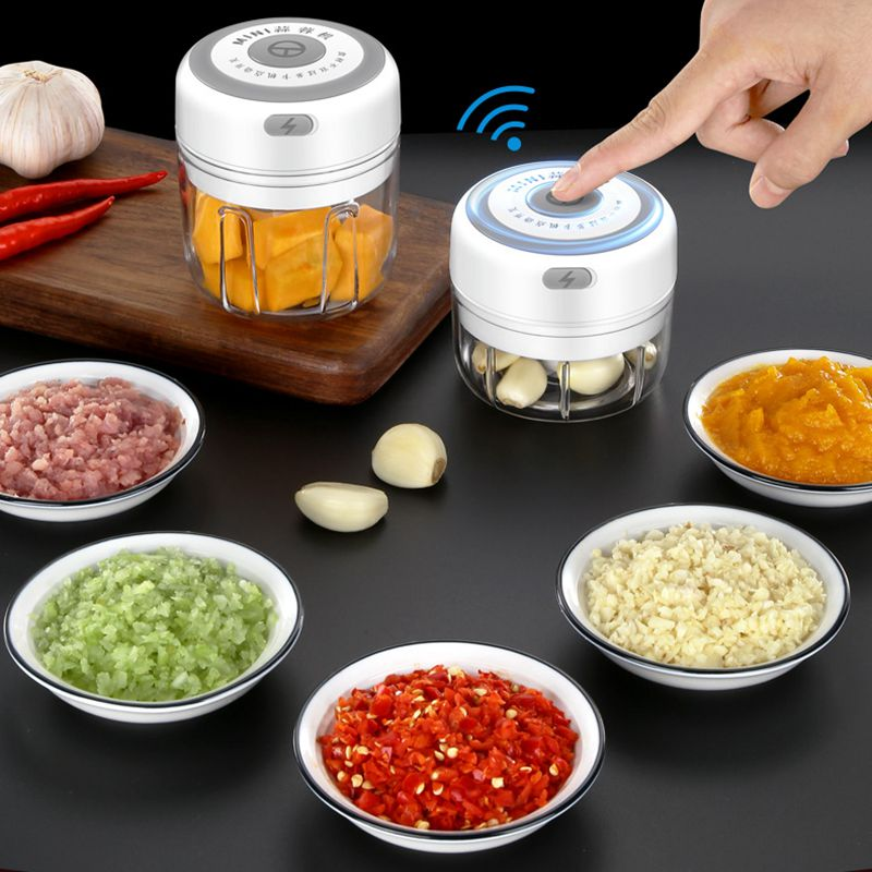 New Electric Mini Garlic Masher  Grinder
