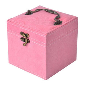 The Princess Velvet Jewelry Storage Box