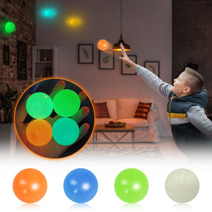 Fluorescent Sticky Wall Ball