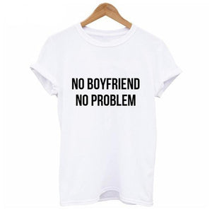 NO BOYFRIEND T Shirts