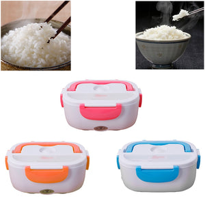 Portable Heated Lunch Food Container