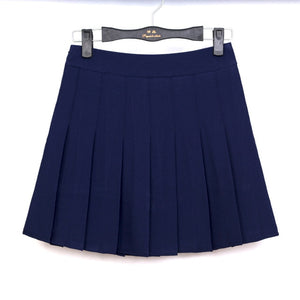 high waist ball pleated skirts