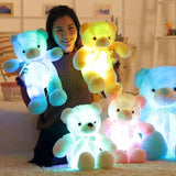 colorful teddy bear| gloving teddy bear| teddy bear for gifts|Led Colorful Glowing Teddy Bear |glowing bear