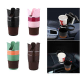 car cup holder organizer,large cup holders,5 in 1 cup holder