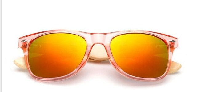 Men wood Bamboo Sunglasses.