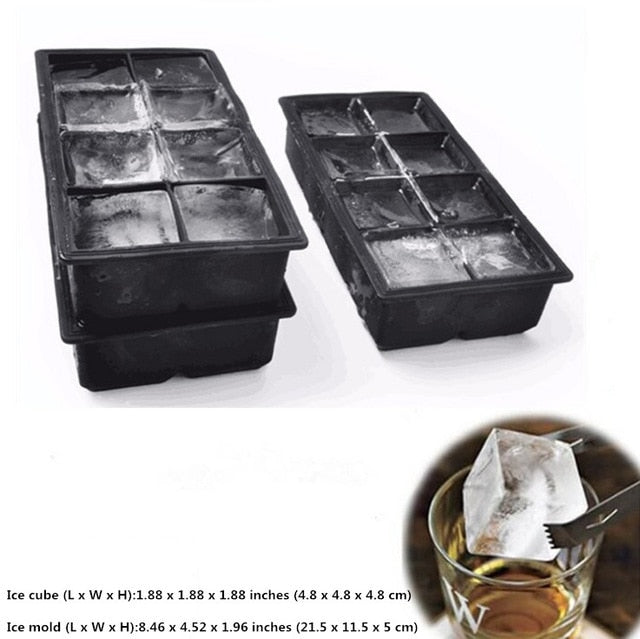 Silicone Ice Cube Mold.