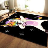 Unicorn Cartoon  Carpets