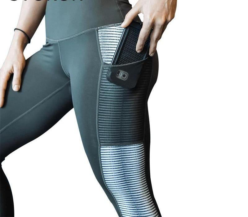 High Waist Active Leggings With Phone Pocket
