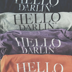 Hello Darlin™ Sweet Tee | winter | Vintage | spring | summer | hello darlin | Crew