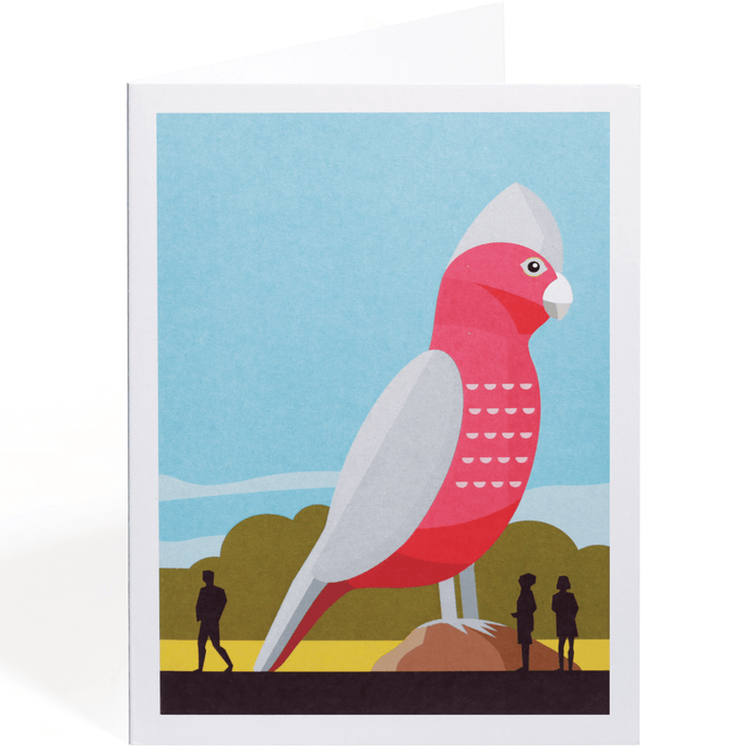 THE BIG GALAH GREETING CARD