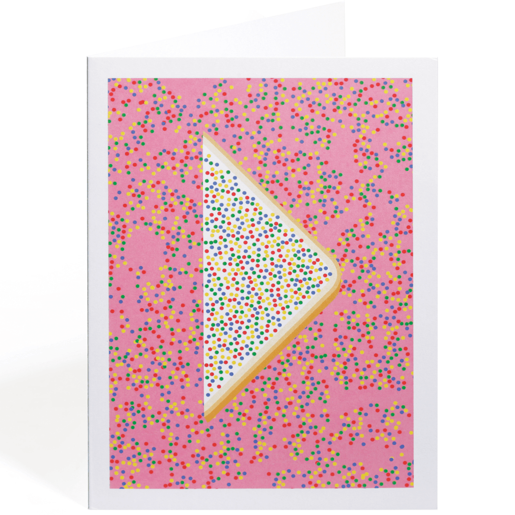 FAIRY BREAD GREETING CARD