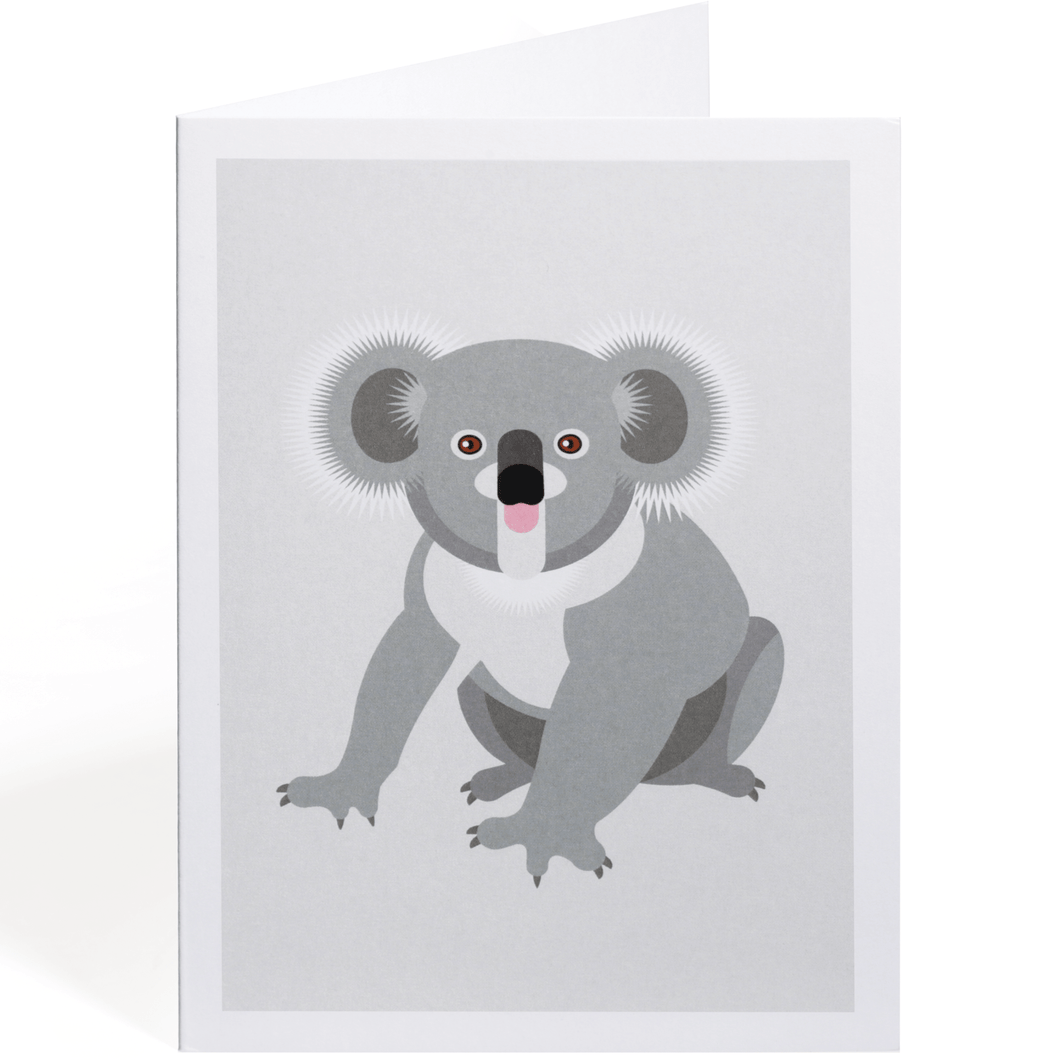 KOALA GREETING CARD