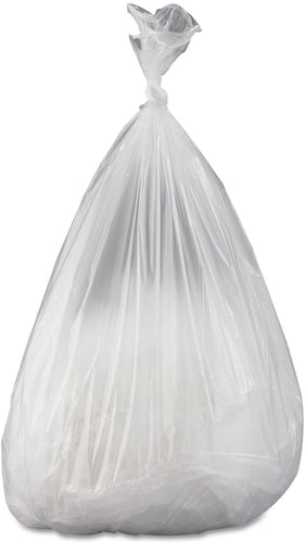 12-16 gallon, 24x33, 8mic., Natural Trash Bags