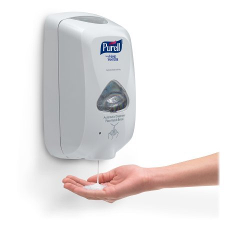 PURELL® TFX™ Dispenser Touch-Free Dispenser for PURELL® Hand Sanitizer, Dove Gray, EACH