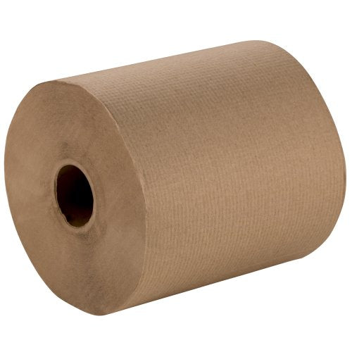 Empress Hardwound Paper Towels, Natural, 12 - 600ft Rolls per Carton