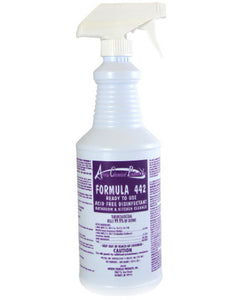 ARROW #442 – READY TO USE FORMULA ACID FREE DISINFECTANT BATH & KITCHEN CLEANER 32oz, 12/Case