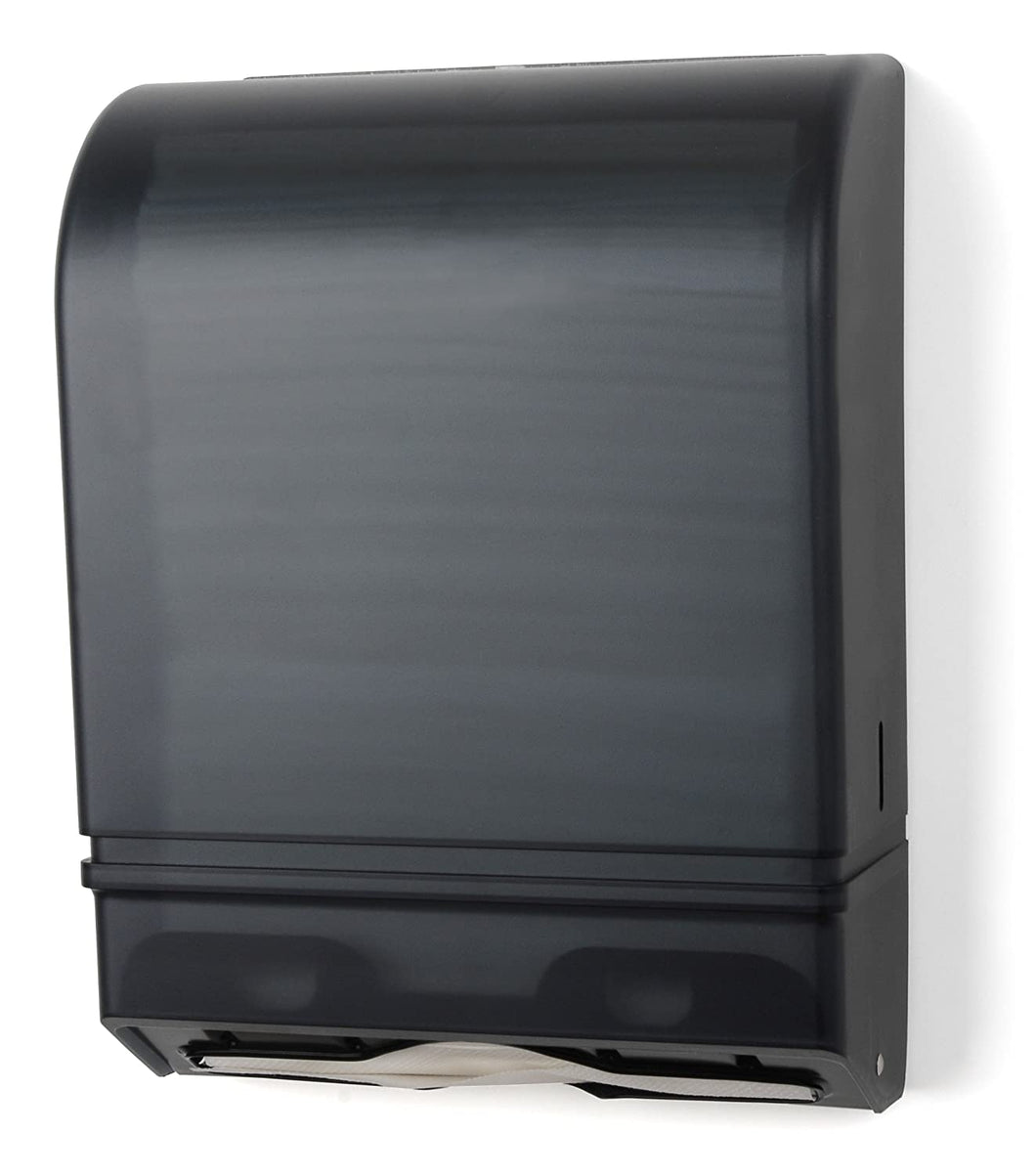 Palmer, Multifold/C-Fold Dark Translucent Towel Dispenser