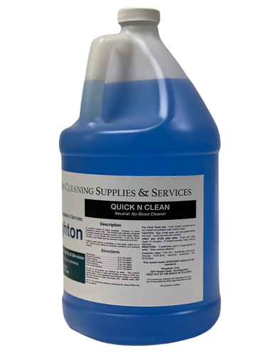 Quick N Clean Neutral No-Rinse Cleaner