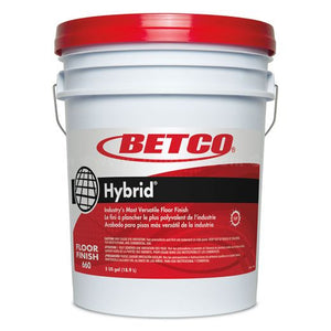 *** Betco-Hybrid Floor Finish 5 Gallon Pail
