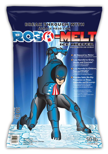 Robomelt, 50 LBS bag, (Melts to -41 degrees F)
