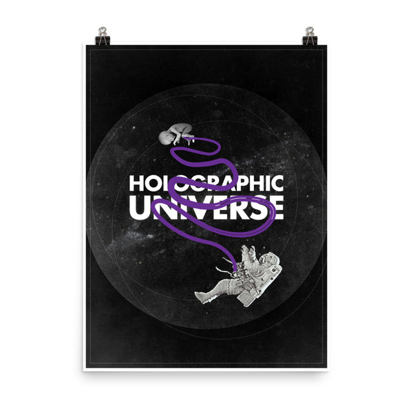 The Holo Universe Poster