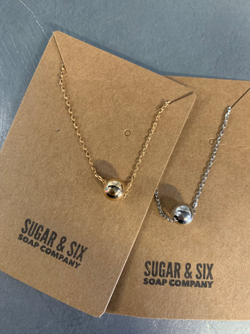Dainty Globe Necklace