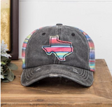 Embroidered Serape Texas Hat